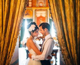Book-Themed Wedding