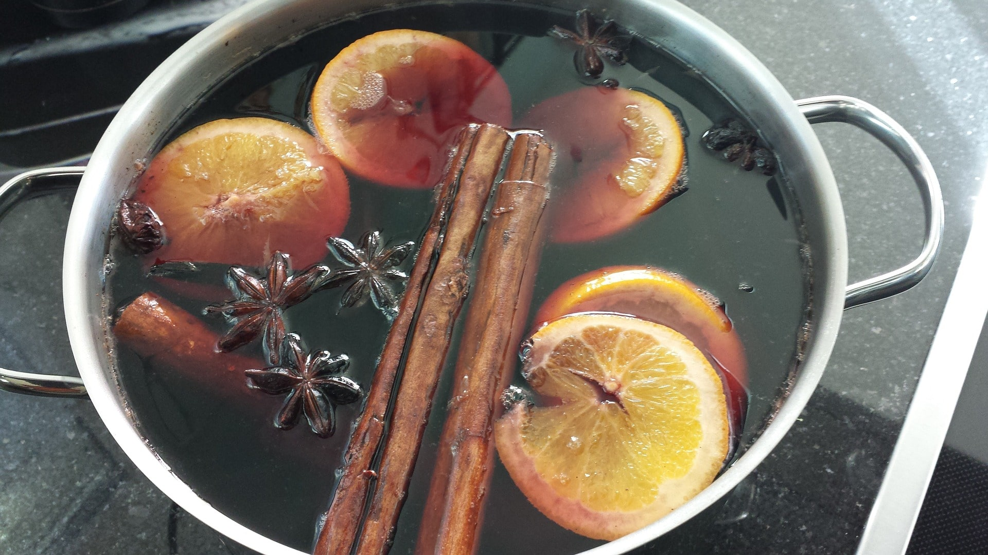Mulled Wine Recipe for festive events