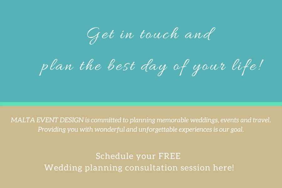 Wedding planner Churches Malta