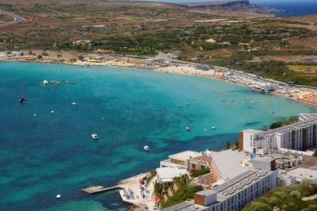 ocean, travel, explore, Malta, Ghadira bay. Photo credit: Independant.com