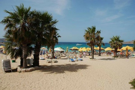beach, Mediterranean, Malta, travel. Photo credit: wikimapia.com