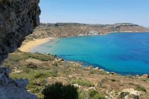 Mediterranean beach, gozo, weddings, them, scene, malta, sea wedding