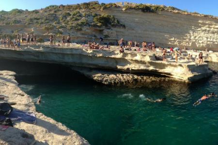 st. peter's pool, travel, bay, Malta. Photo credit: Davismol.net