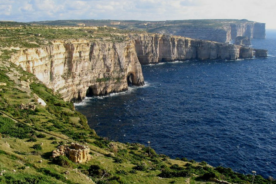 Fungus Rock, Gozo, Travel. Photo Credit: Trekearth.com