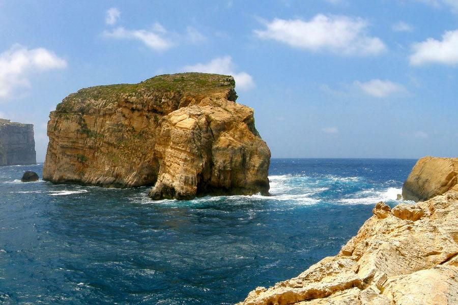 Fungus Rock, natural attractions, Gozo, Travel.Photo Credit: Francis1ari.Deviantart.com