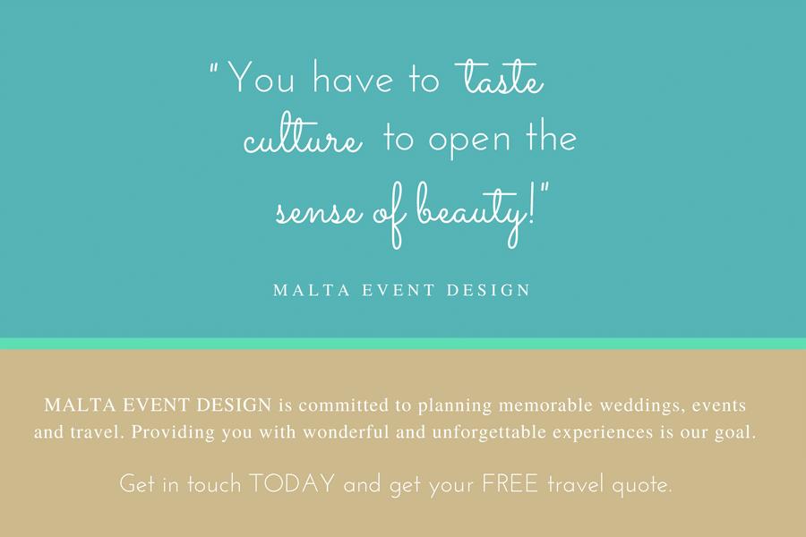 Contact Us - Valletta - Malta Event Design