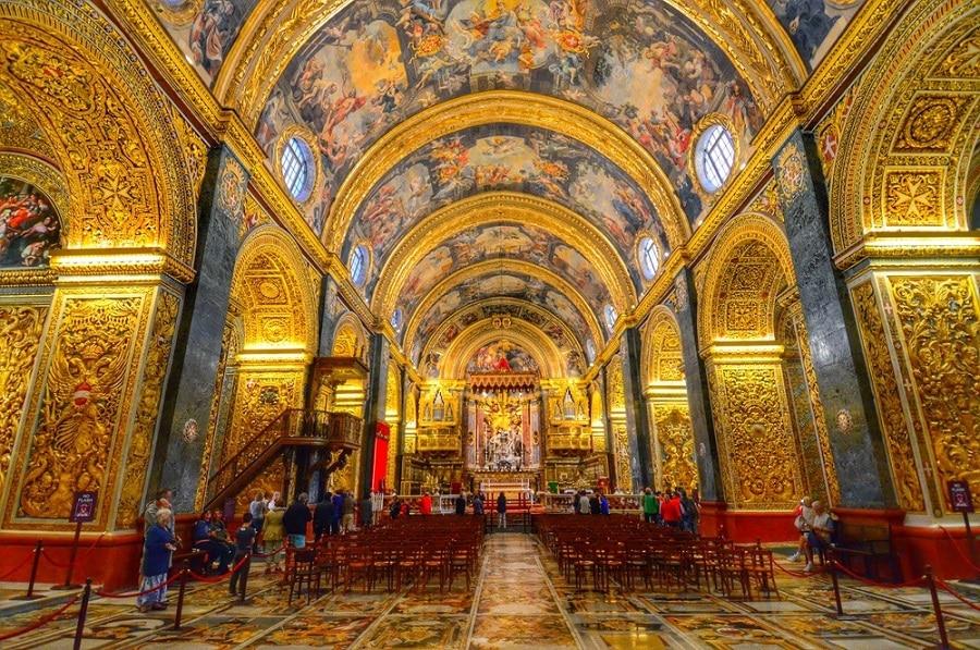 cathedral valletta malta st john