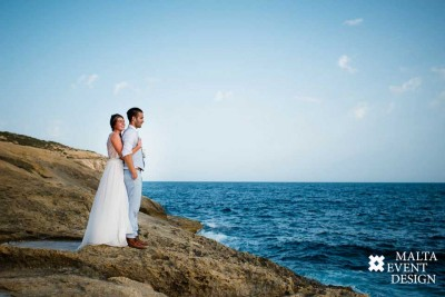 Summer wedding in Gozo